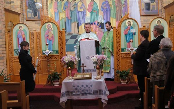 Feastday of St. Volodymyr in Canberra