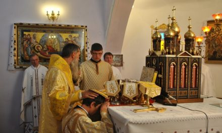 Deacon's ordination for Ivan Mysiv – new priest for ukrainians in Australia