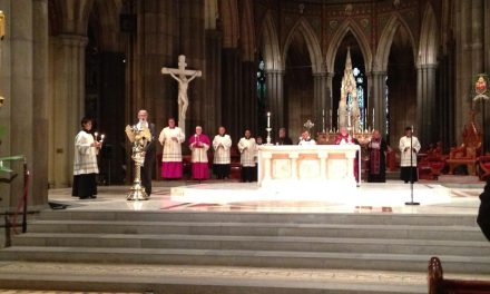 The Homily of Bishop Peter Stasiuk, Eparch of Ukrainian Catholics, at St. Patrick's Cathedral, Melbourne. Wednesday 26th February, 2014