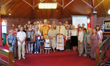 Bishop Peter and Fr. Andriy visit New Zealand
