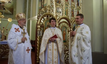 A new priest ordinated for Ukrainian Catholic Eparchy in Australia