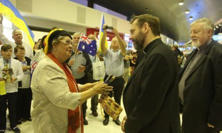 Patriarch Sviatoslav has arrived in Perth for his first visit to Australia