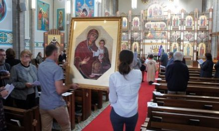 Eparchy opens Door of Mercy
