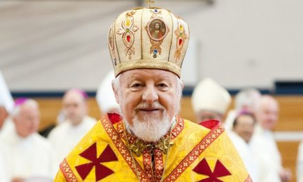 Congratulations to Bishop Peter on 50 years of service