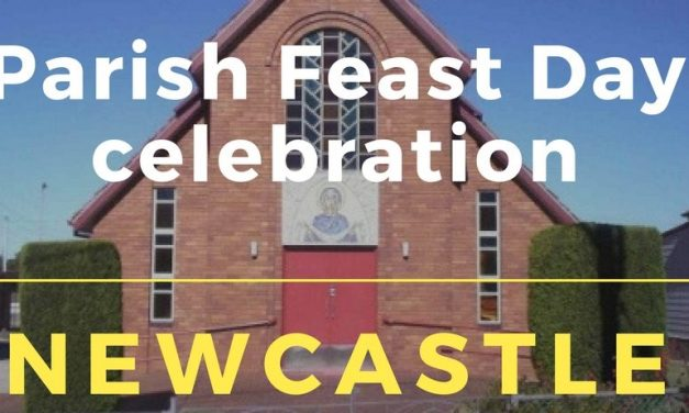 Newcastle invites for a Parish Feast Day Celebration