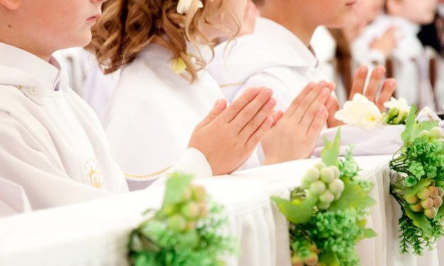 First solemn holy communion in Melbourne