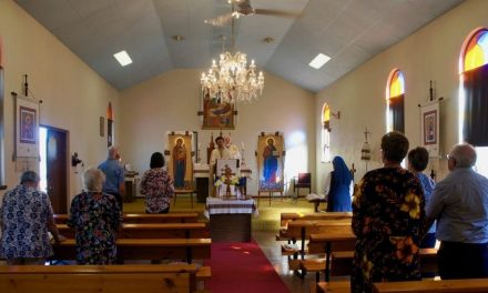 We have a small Parish in Northam WA