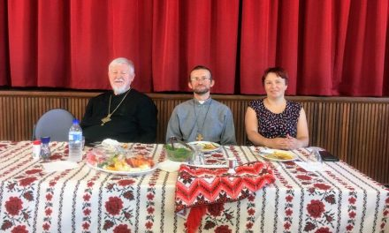 Bishop Peter on Pastoral Visit to Perth