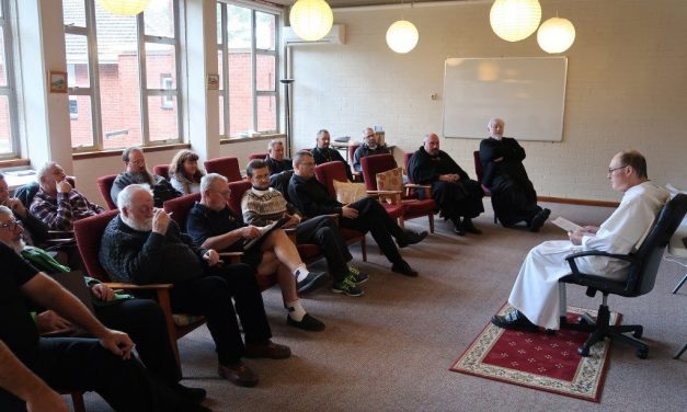 Fr. Foote OP leads Eparchy retreat