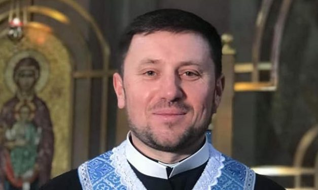 Bishop-elect Mykola Bychok's Easter Greeting