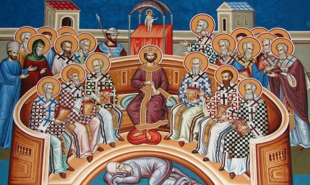 The Sunday of the Holy Fathers of the first six ecumenical councils