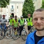 A bicycle pilgrimage to Zarvanytsia (Ukraine)